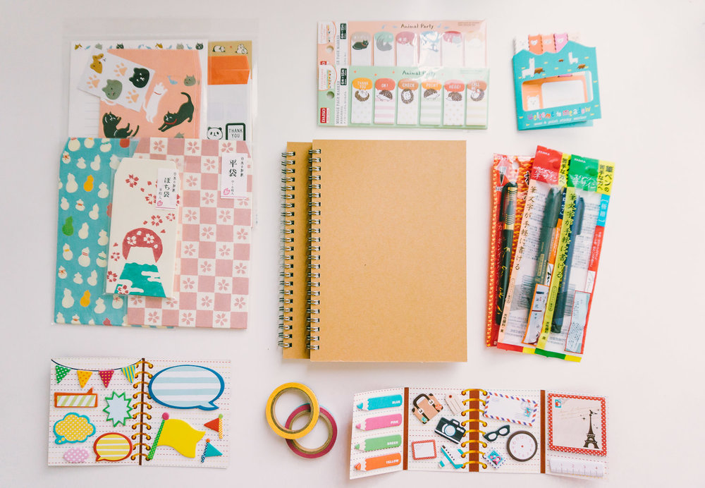Daiso Stationery Main