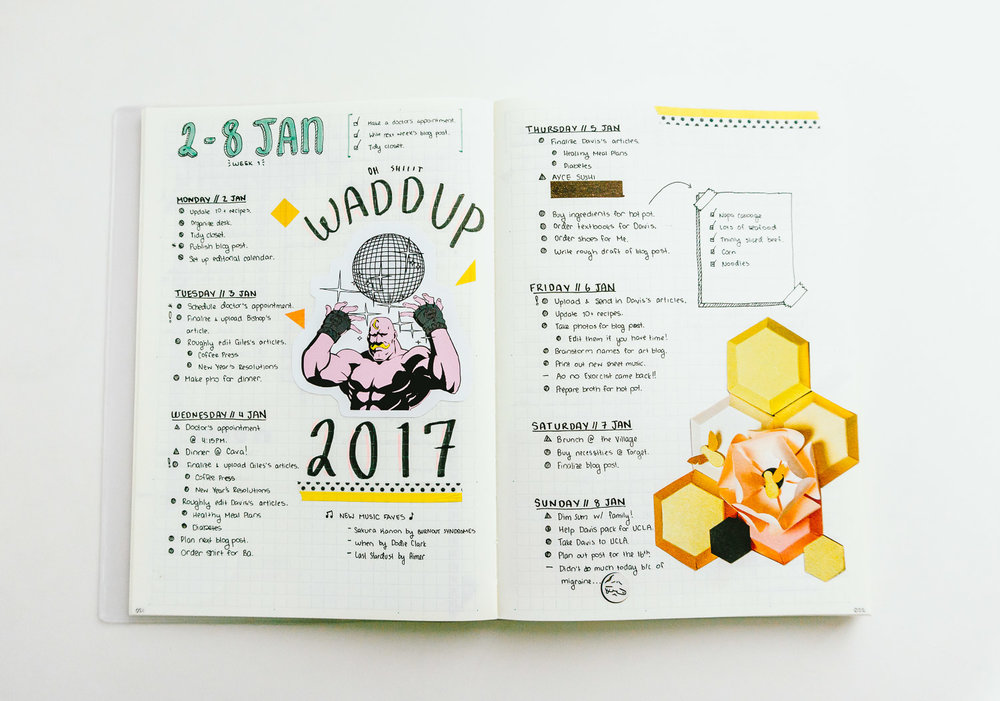Weekly Spread or Daily Logs
