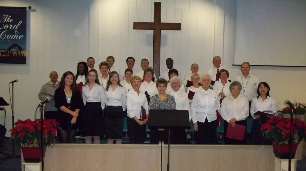 Celebration choir from a previous year