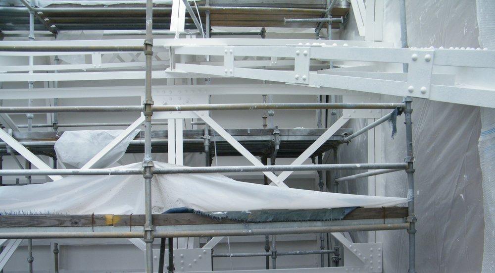 Tainter gate coating by W&K Enterprises, LLC.