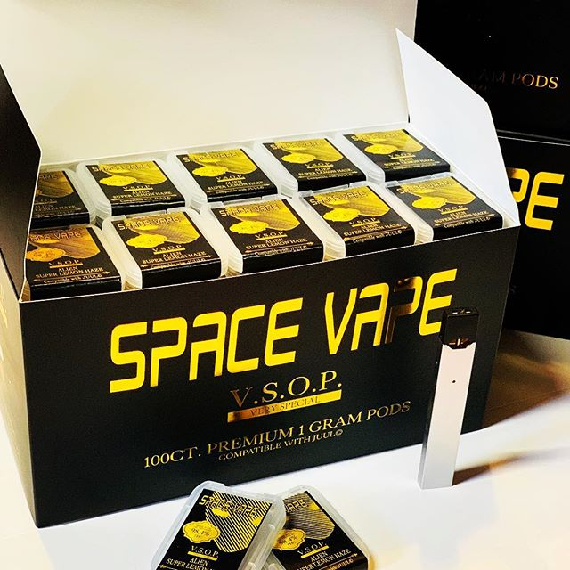 VSOP PREMIUM 1 GRAM PODS - The finest in the galaxy #2019 #JuulPods #Spacevape #AlienGang 👽 🛸