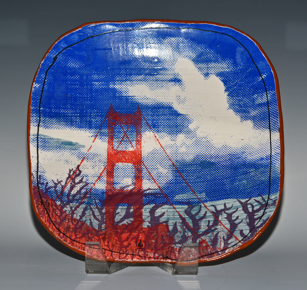 Golden Gate Bridge Plate