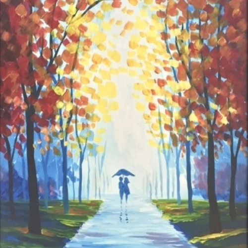 """Evening Stroll"" Painting UR Way"