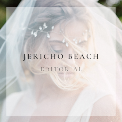 Jericho Beach Bridal Editorial featured on Vale and Vine | BetterSweet Photography | Vancouver Wedding Photographers