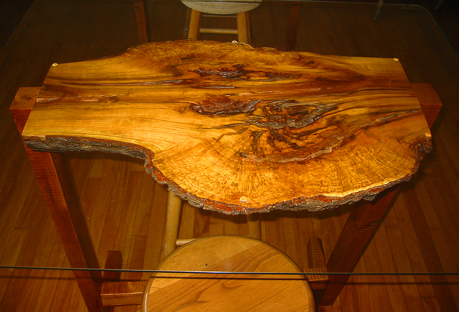 Cherry Slab Table