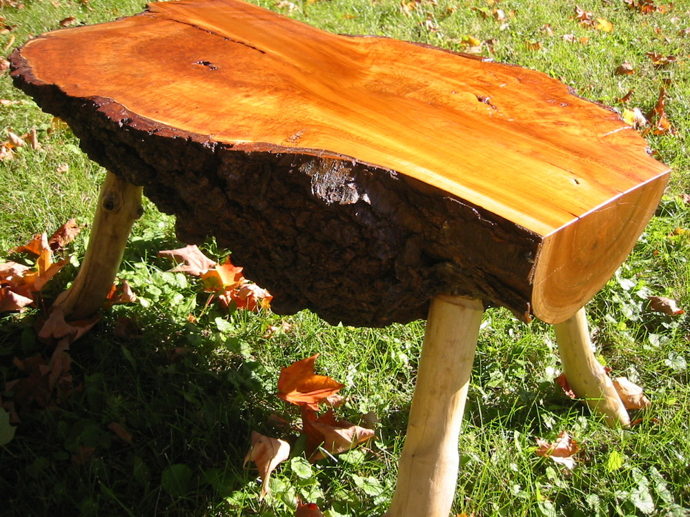 Cherry Burl Coffee Table