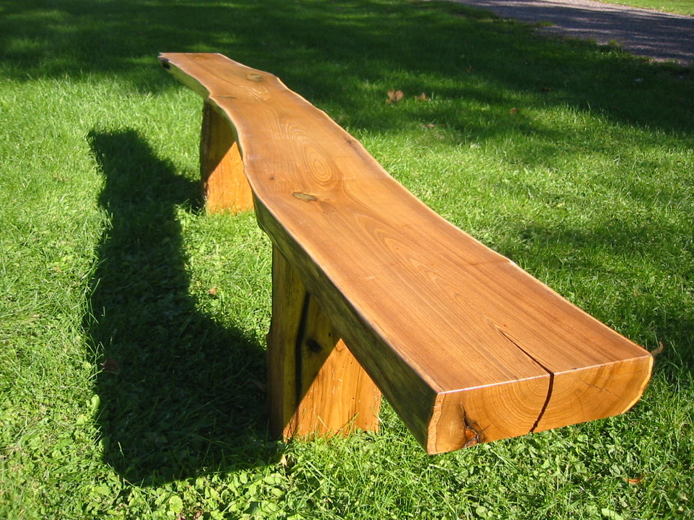 Butternut Long Bench