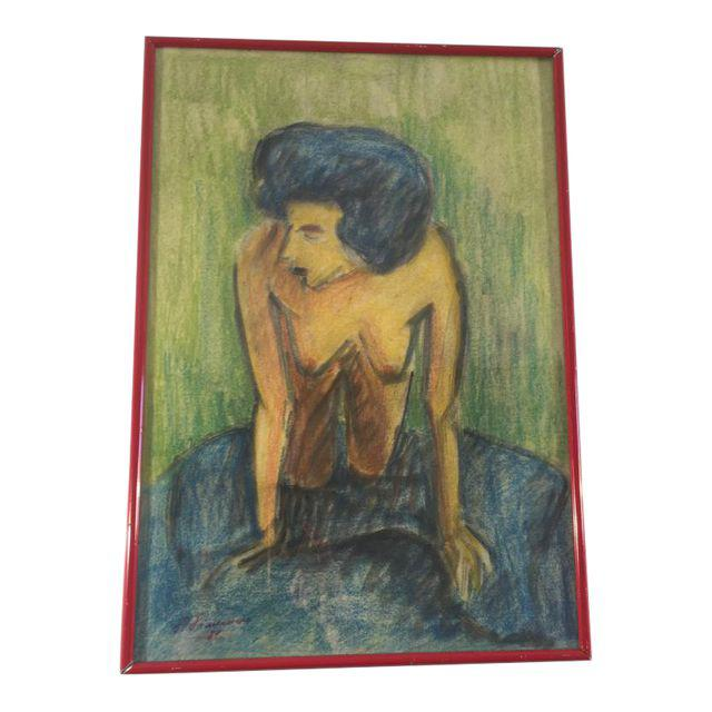 Drawing of a Nude Woman, SOLD