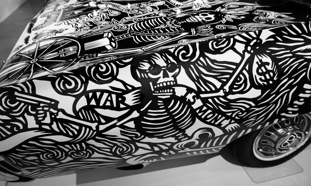 Lowrider [detail], The Petersen.