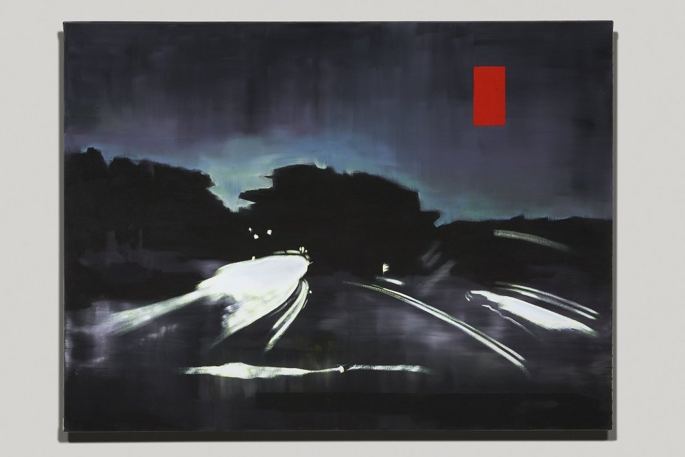 """DRIVE"", 36"" X 48"", O/C, 2017"