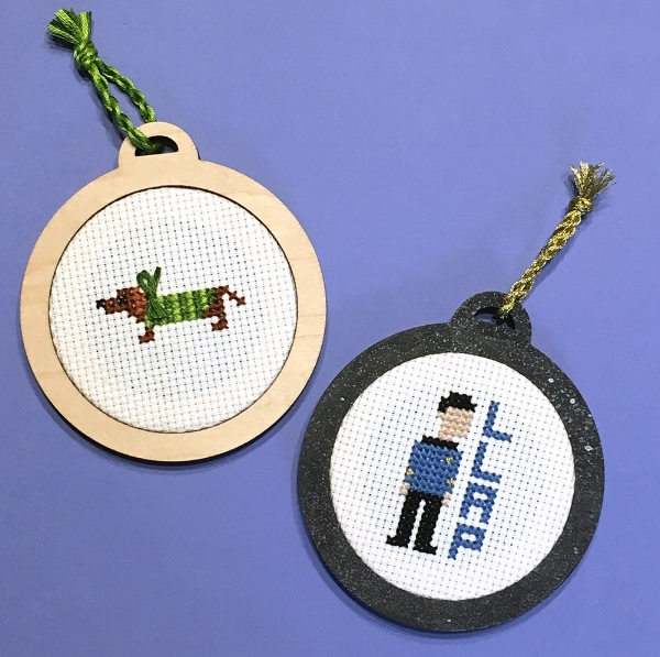 Ever wanted to learn cross stitch and also make an ornament for your tree? Now you can with Becka on Oct 16th or Dec 5th.