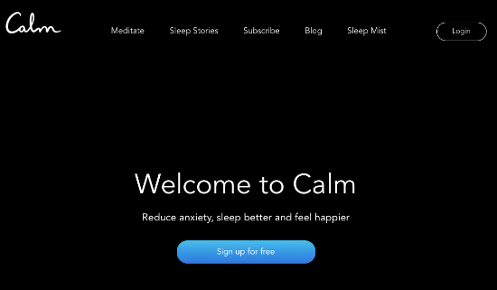 Business Tools - Meditation Calm app.png