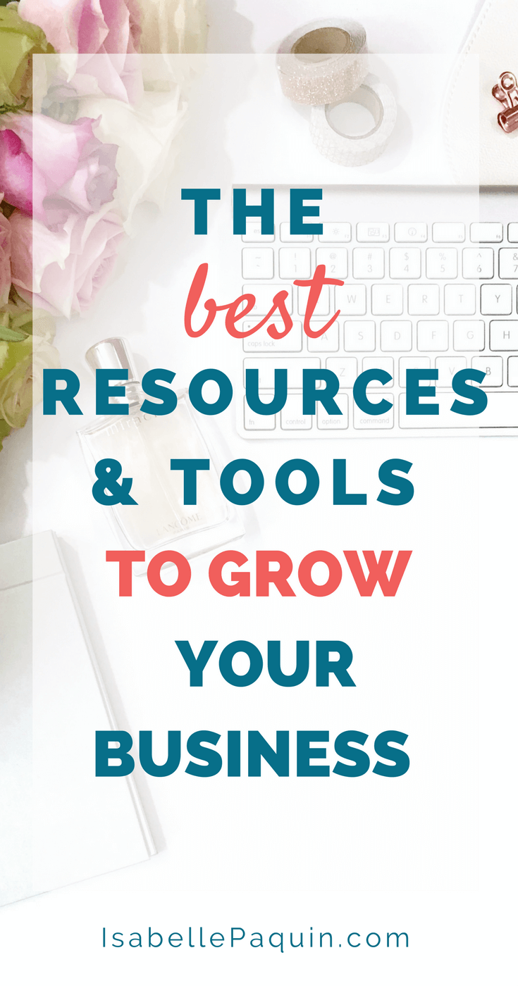 Click to learn the best resources and tools to grow your business. #businesstools #businesstips