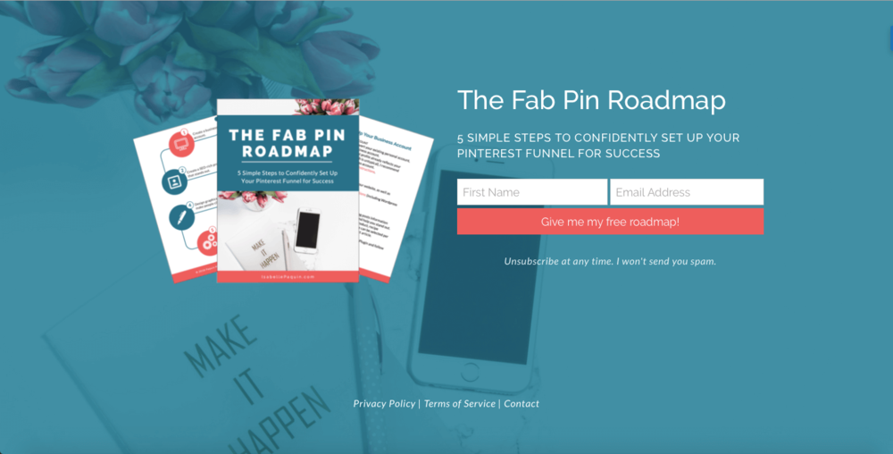 Fab Pin Roadmap | 5 simple steps to confidently set up your Pinterest strategy for success