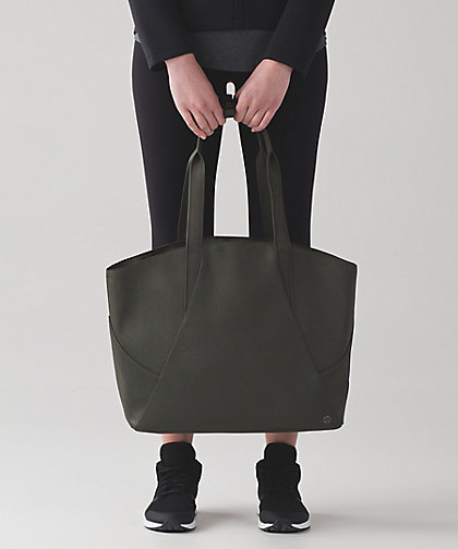 All Day Tote also currently available at Lululemon.  Like this one, too!