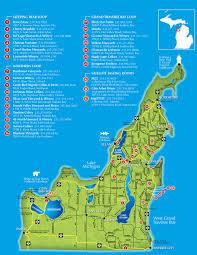Leelanau Wine Trail Map (photo via pnweb.com)