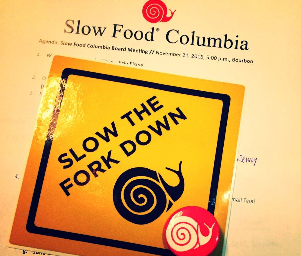 SLOW FOOD IS AN IDEA, A WAY OF LIVING & A WAY OF EATING. - It is a global, grassroots movement that links the pleasure of food with a commitment to community and the environment.