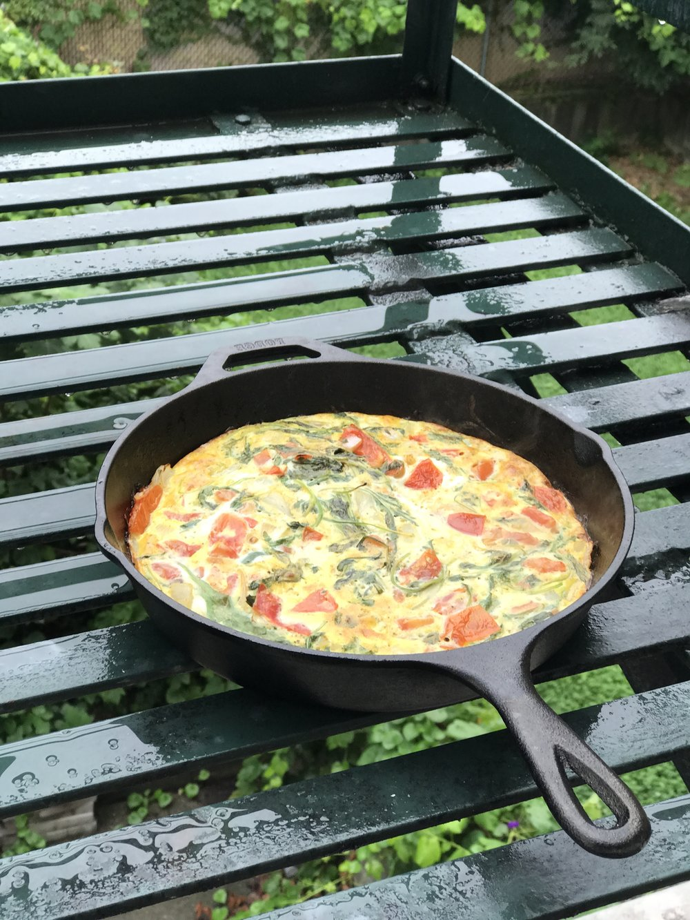 My very first Whole30 meal. This frittata was DEELISH