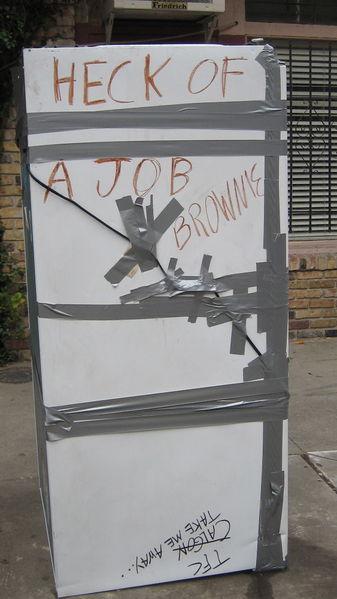 """""""Heck of a Job Brownie"""" ."""