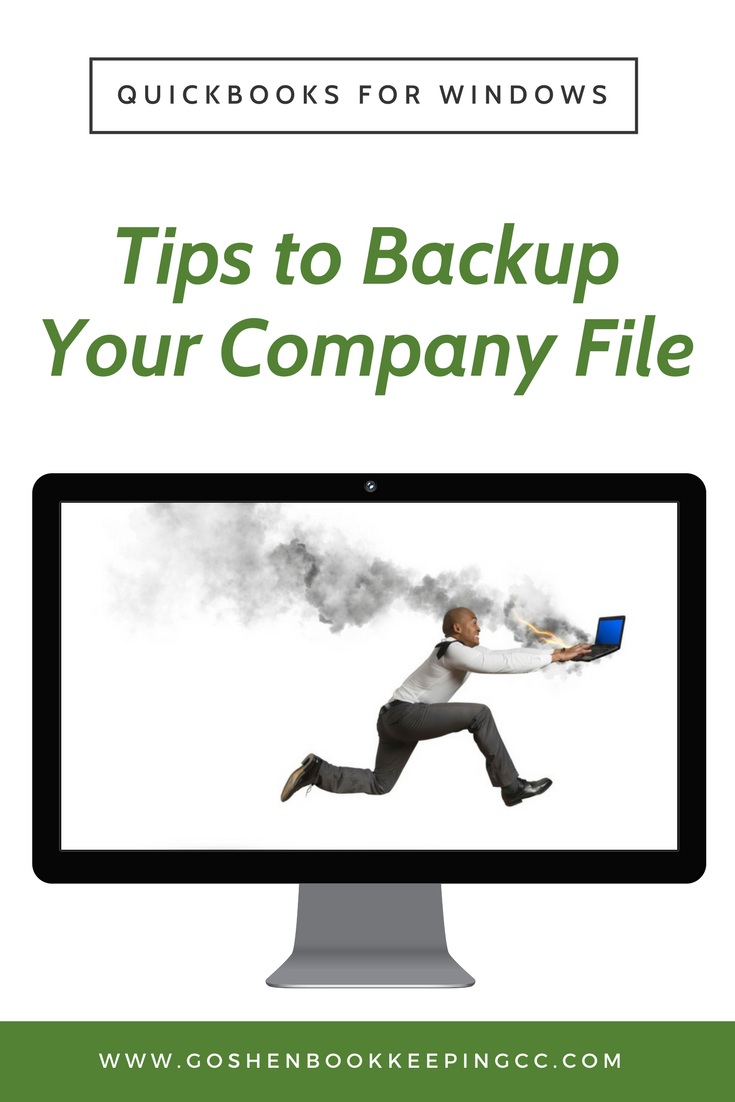 QuickBooks Company file Data Loss