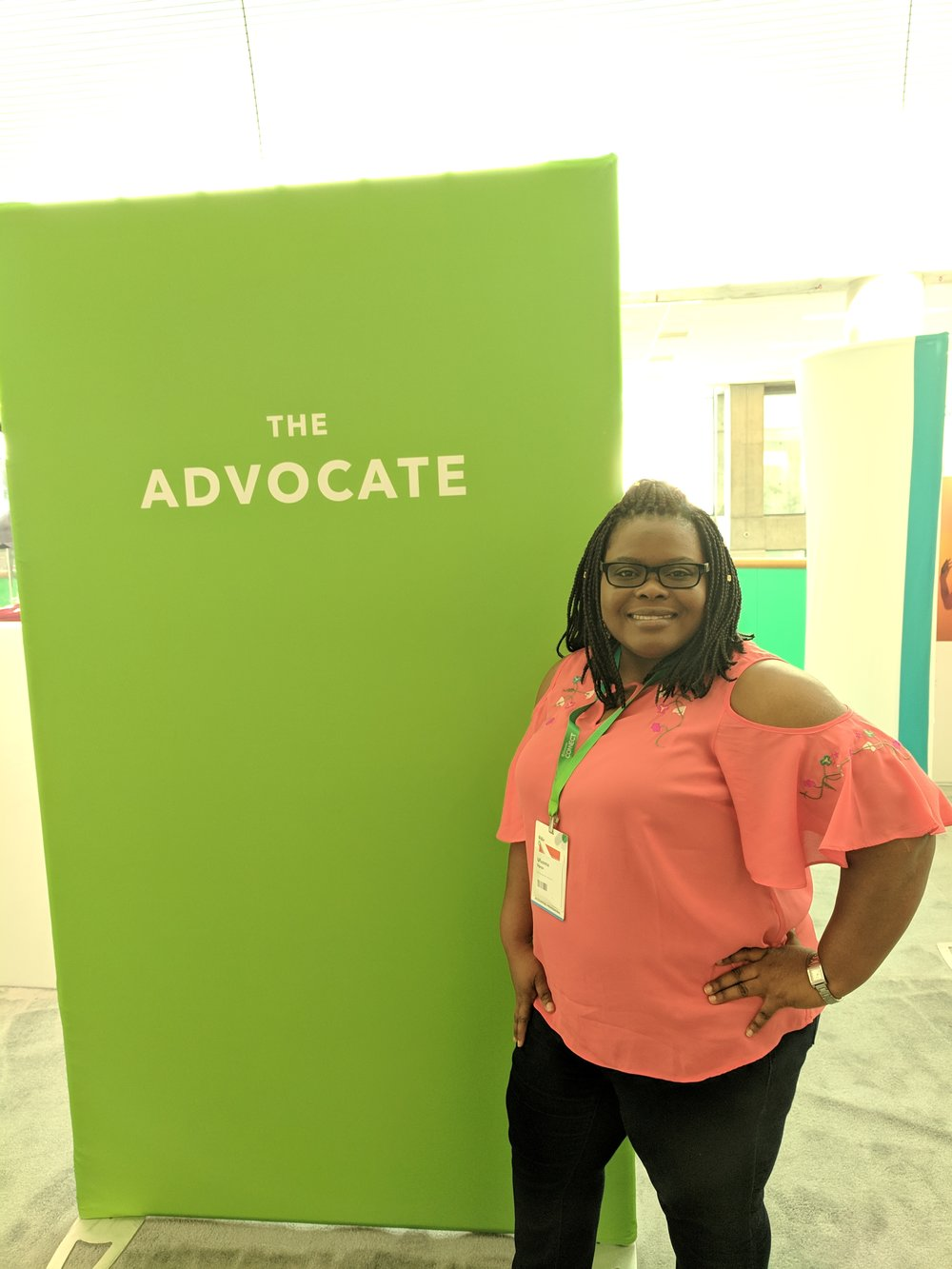 Ufuoma Ogaga, The Advocate - 2018 QBConnect