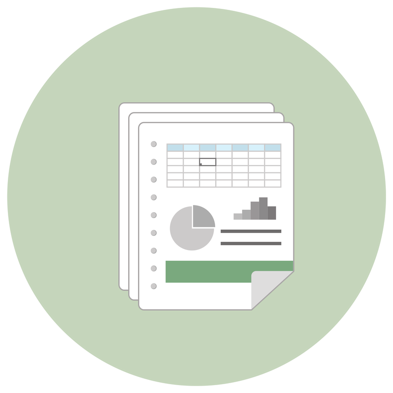 Chart of Accounts Excel Templates