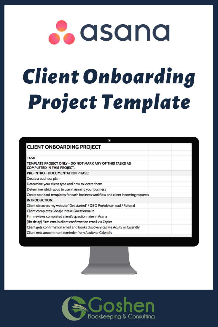 Client Onboarding Asana Project Template