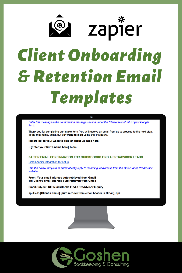 Client Onboarding Sample Emails Template