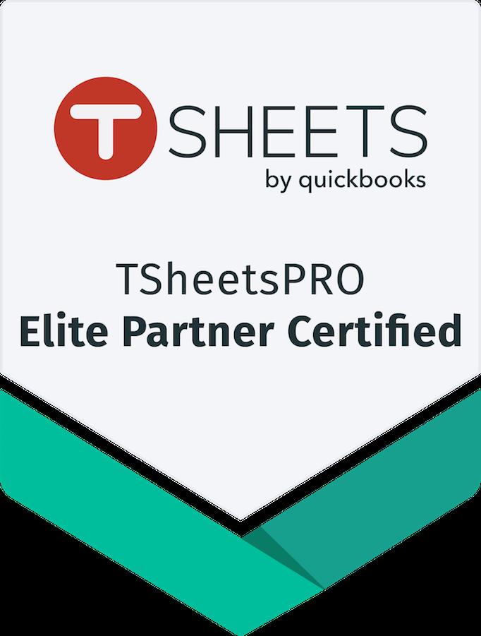 Tsheets Certified Elite Pro