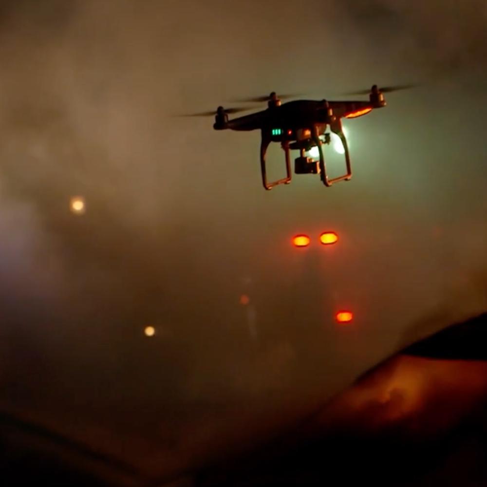 hostage police drone programs