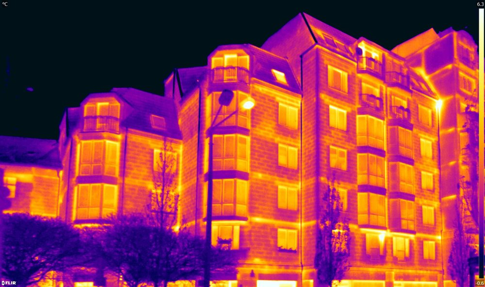 FLIR thermal cameras fire department drones