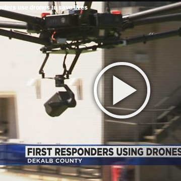 FIRST RESPONDERS USE DRONES TO SAVE LIVES 5/2/17 CBS 46