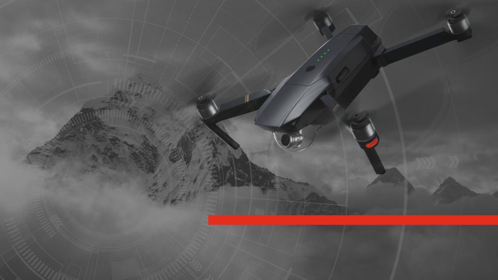 DJI Mavic Pro Hero Image Fire Drone