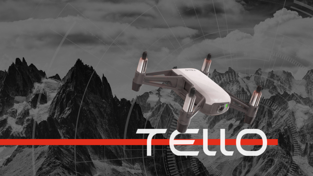 RYZE Tech Tello Hero Image the Perfect Public Safety Training Drone