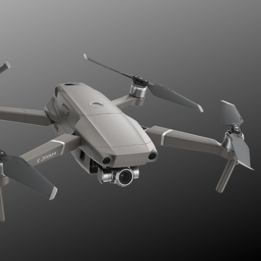 Mavic 2 Pro for fire and police drones