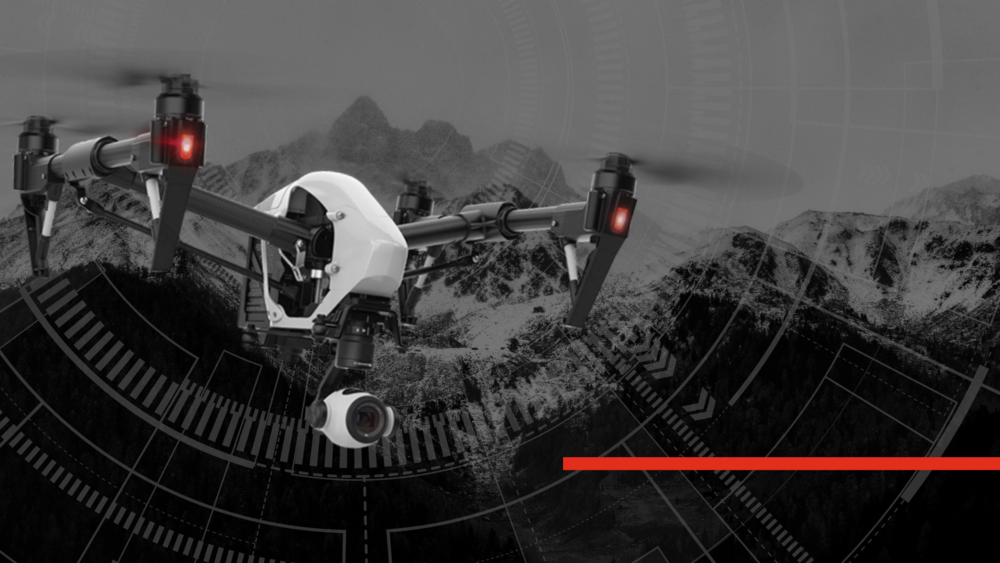 DJI Inspire 1 Hero Image fire department drone and police uas