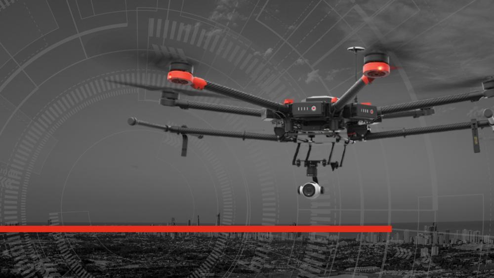 Matrice 600 Hero Image HAZMAT drone for fire service or law enforcement uas