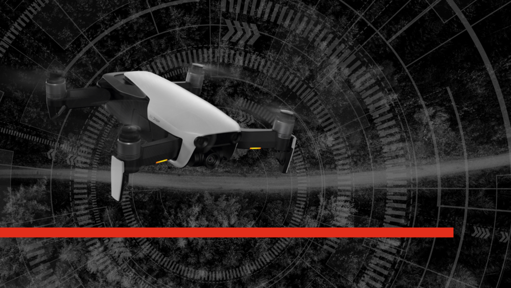 Mavic Air Hero Image training drone for police and fire service