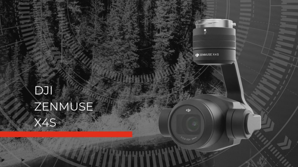 Zenmuse X4S Hero Image fire drone camera for police drones