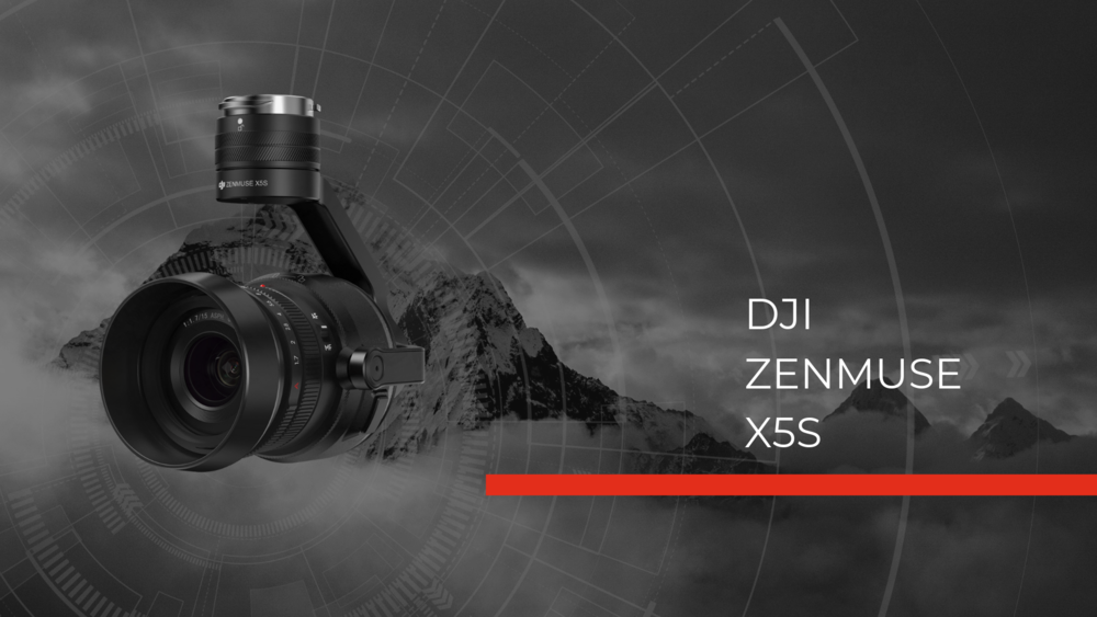 Zenmuse X5S Hero Image fire drone camera for police drones