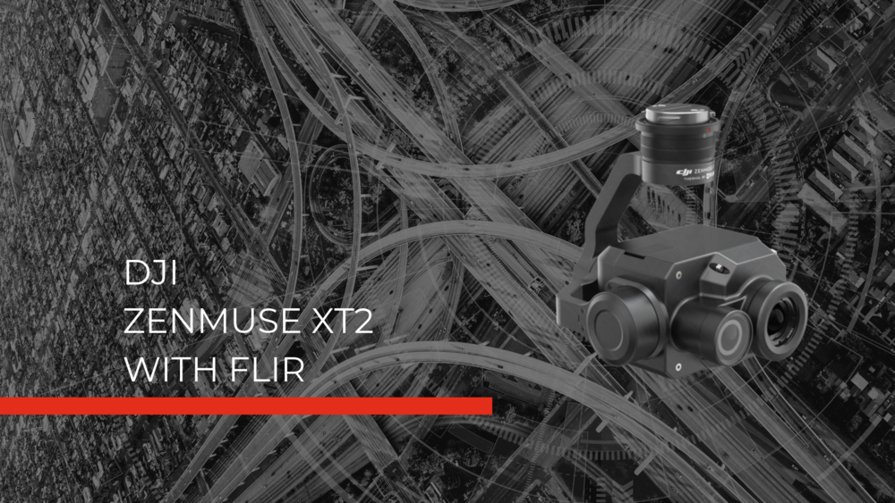 Zenmuse XT2 Hero Image thermal imaging for fire rescue drones