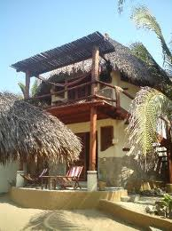 A two story bungalow at Punta Placer.