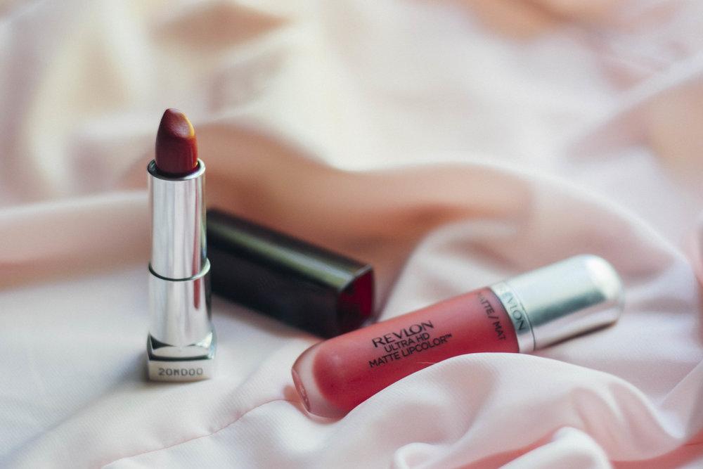 1.)Red Lipstick -