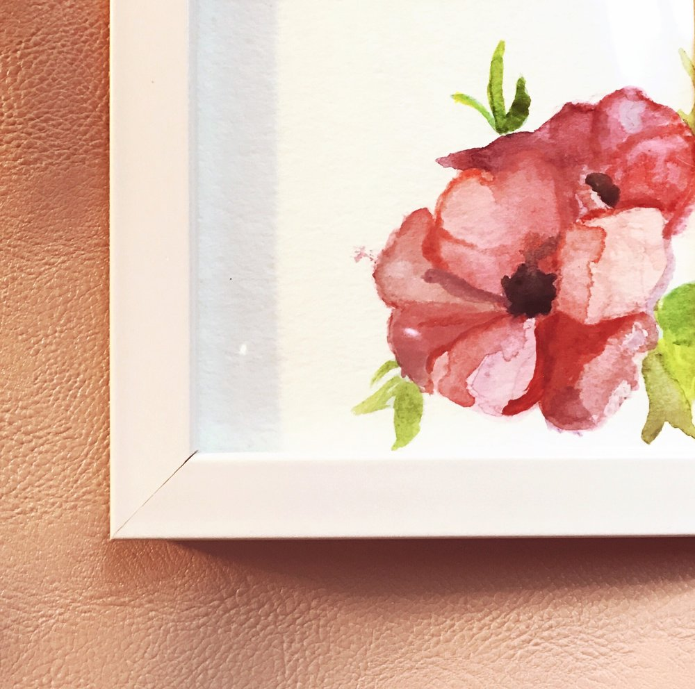 4.) Painting with Watercolors -