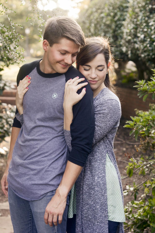 Winthrop Rock Hill engagement photo