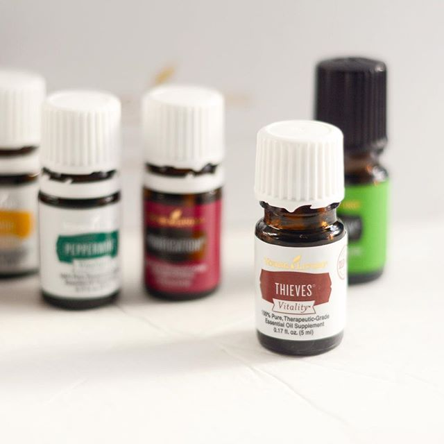 Jumped on the #youngliving train this weekend! I still have so much to learn! . Comment below your favorite ways to use #essentialoils! What are your favorite blends to diffuse?
