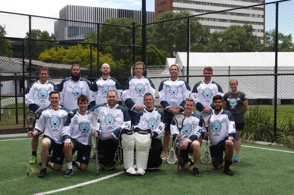 The 2017 New South Wales Indoor Lacrosse Squad (minus a few) with game faces on!