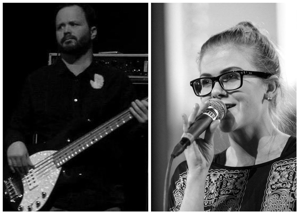 Bass and voice - STebbi og Marina