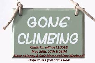 Have a safe and happy Memorial Day Weekend, everyone! Who will we be seeing at the Red? 🙋🏼♀️🧗🏼♀️ #memorialdayweekend #redrivergorge #climbing #rockclimbing #rockclimbinggym #indoorclimbinggym #outdoorseason #seeyouatthecrag