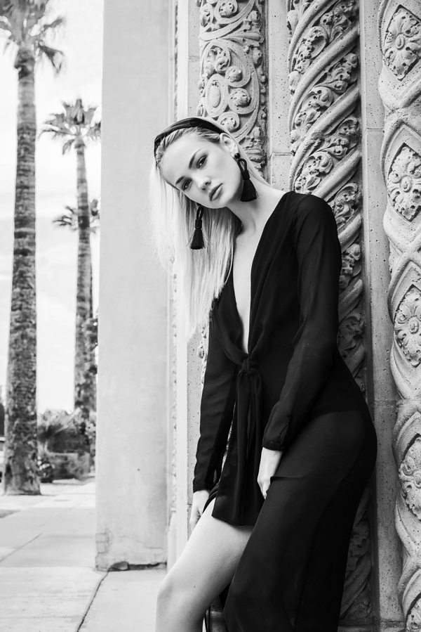 Sha Carrell Ford Robert Black Agency Renee Marchelle Photo, styled by Melody Sanchez Design De Amore